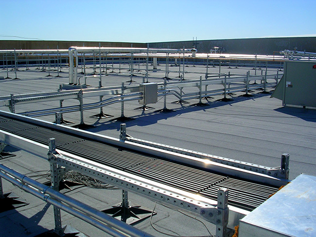 Roof Support System Flat Roof Systems Phpsd