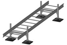 Cable Tray Support rooftop pipe support