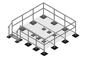 Roof Platform Systems Roof Equipment Supports
