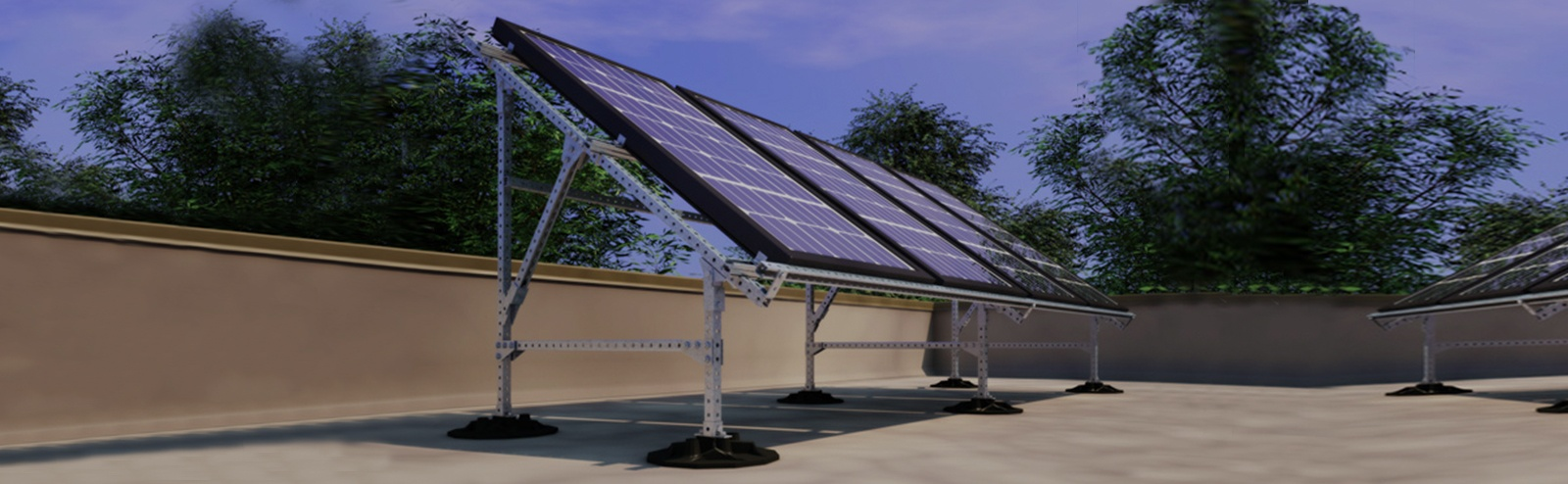 Rooftop Solar Panel Mounting Systems & Commercial Rooftop Solar Panel Mounting Systems