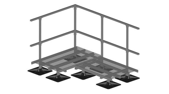 Roof Walkway Systems Crossover Stairs
