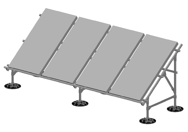Solar Panel Support Image