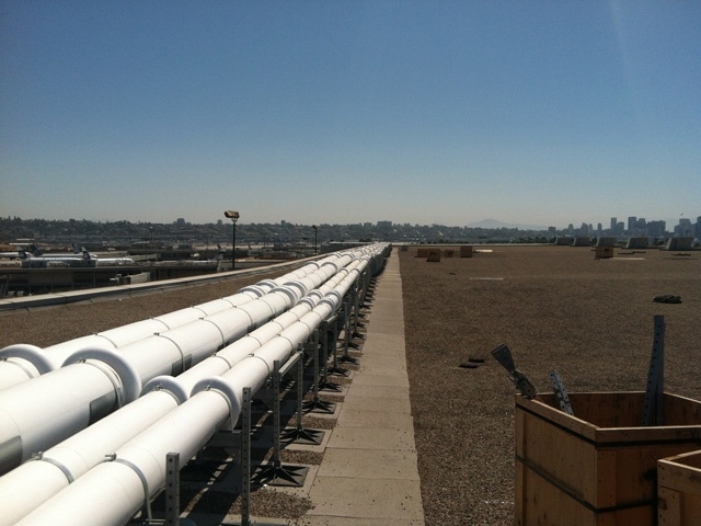 Roof Support System for San Diego International Airport