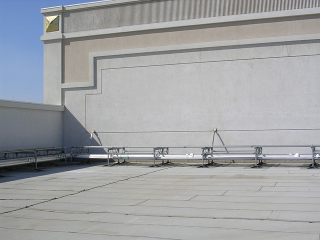 Roof Support System for Casinos
