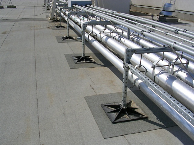 Casino Rooftop Support Systems