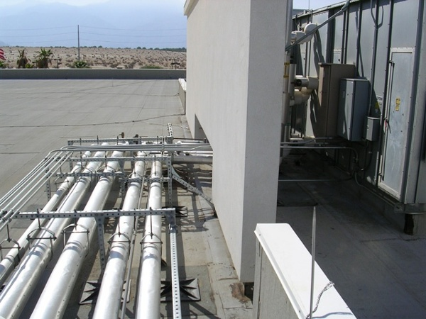 Casino Rooftop Support System Design