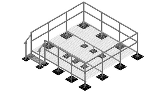 General Roof Walkway Platforms