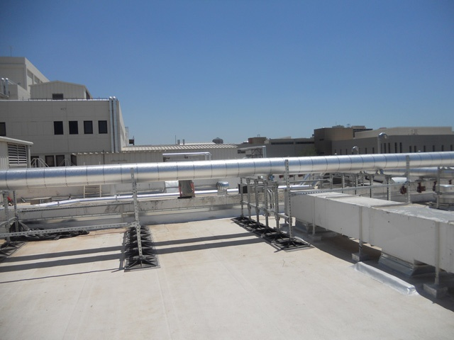 Roof Support System for government facilities