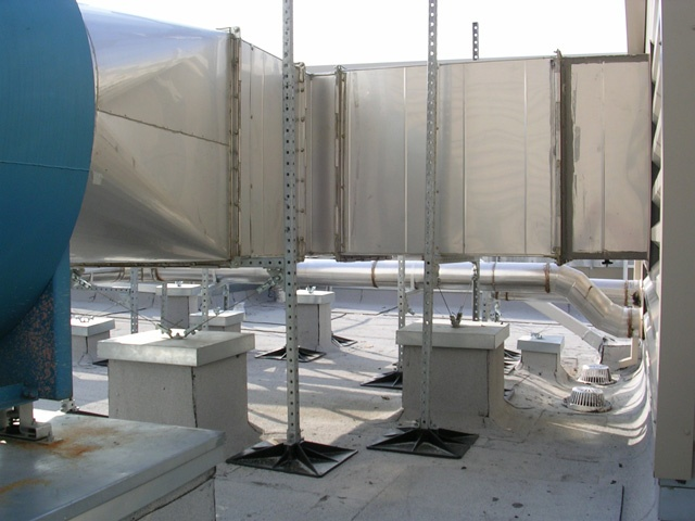 Roof Support System for hospitals