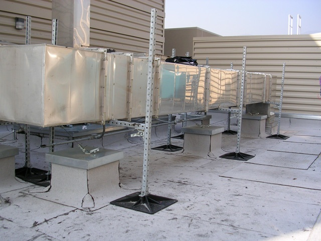Rooftop Support System for Hospitals