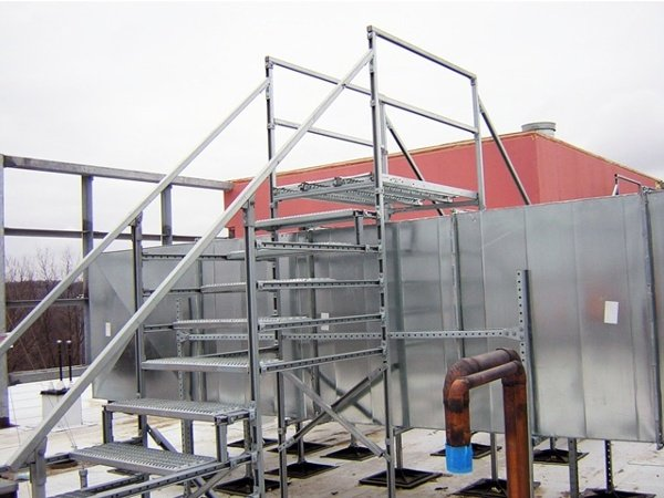 Hospital Roof Support Systems
