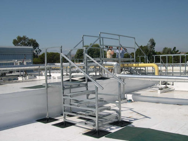 Rooftop Support System for Kaiser Hospital