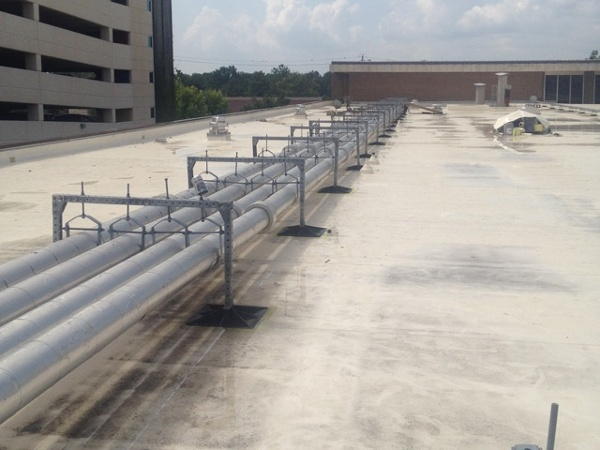 Memorial Hermann Hospital Roof Support System
