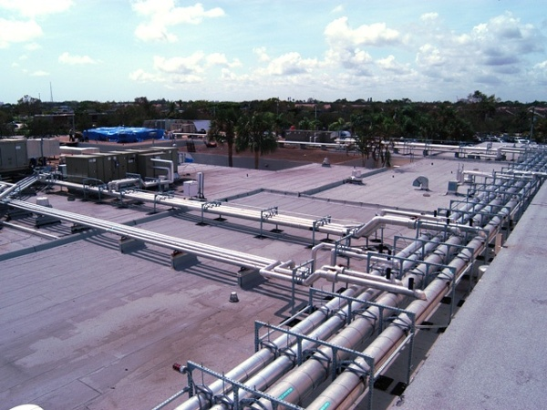 Roof Support System for Medical Centers