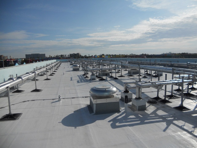 Hotel Roof Support Systems