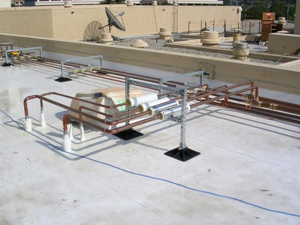 Hotel Rooftop Support System Design