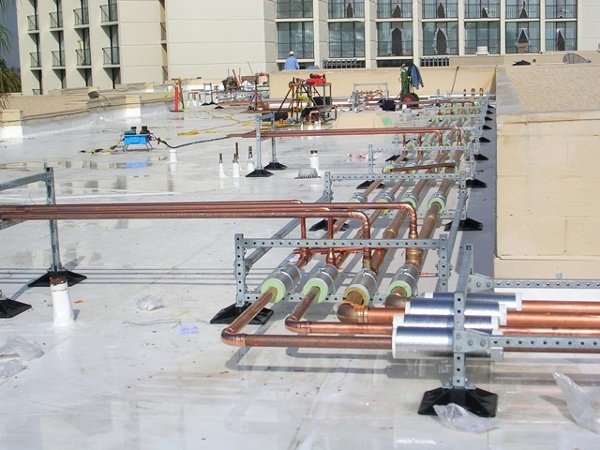 Roof Support System for Hotel Facility