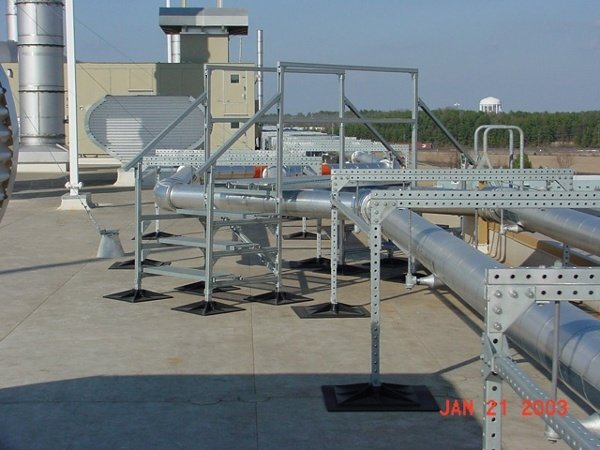 Assembly Plant Roof Support System for GM