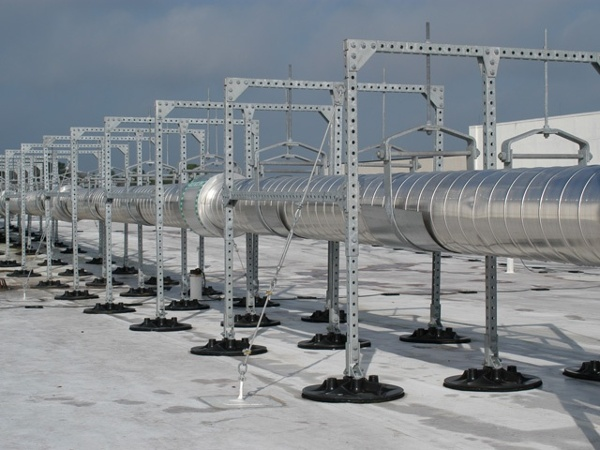 industrial roof support for lockheed martin