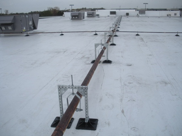 Store rooftop support systems