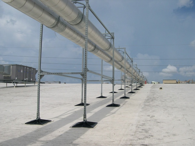 manufacturing facility roof support system for Tropicana, FL