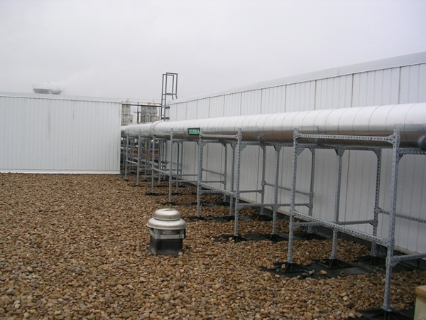 roof support system of dannon manufacturing facility