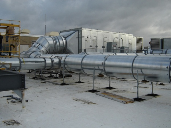 manufacturing facility roof support system for Kraft Foods