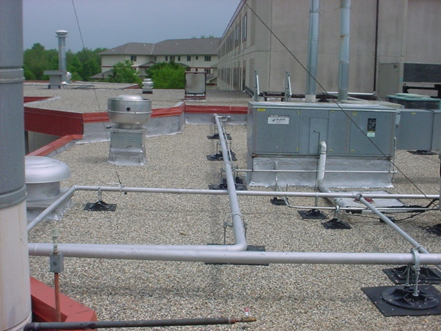 roof support system for offices