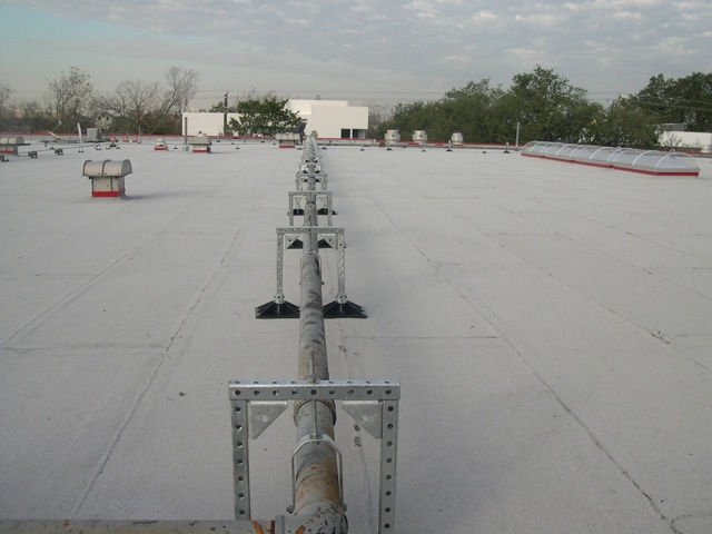 High School Roof Support System