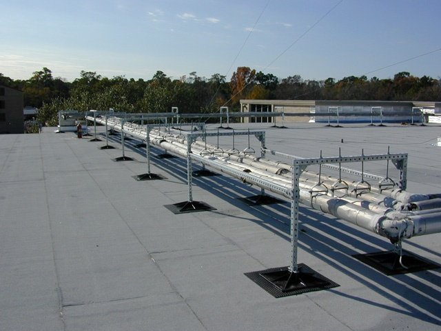 School District Rooftop support systems