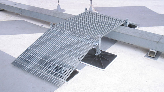 ramp for the roof