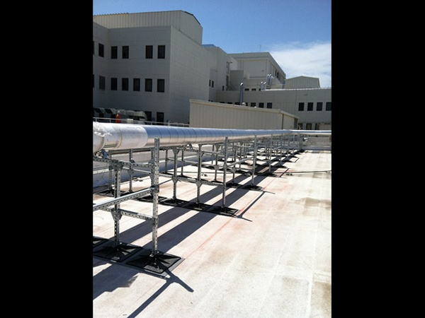 Roof Support System for Retail