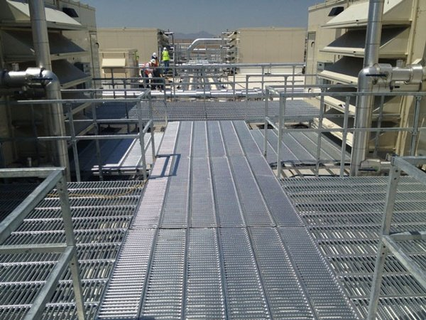 Rooftop Support System for Retail