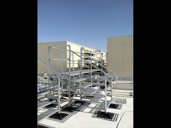 Store Roof Support Systems