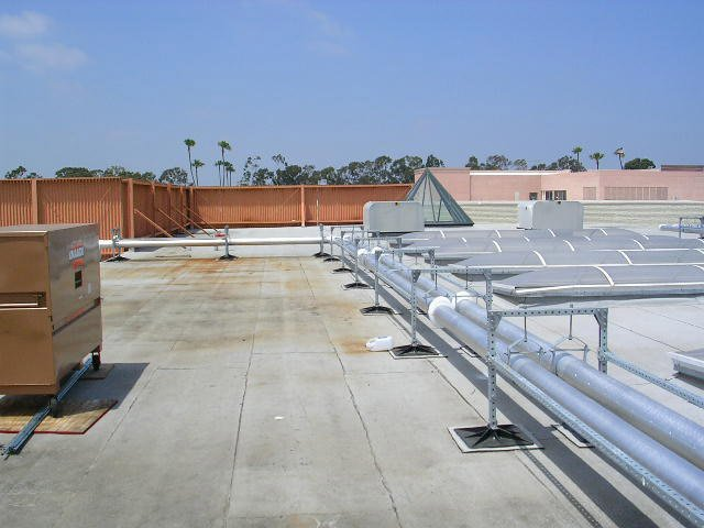 Roof Support System for Stores
