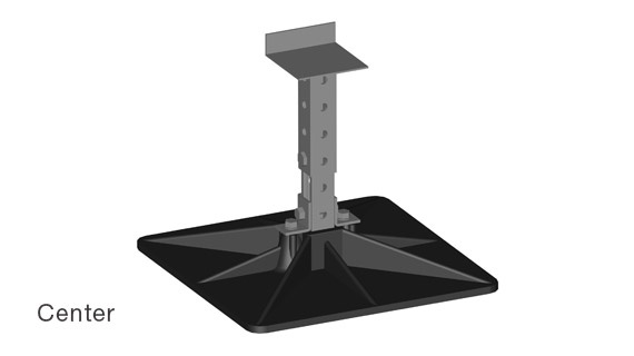 RTU-20 Equipment Roof Supports - Center
