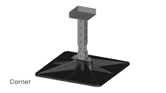 RTU-20 Equipment Roof Supports - Corner