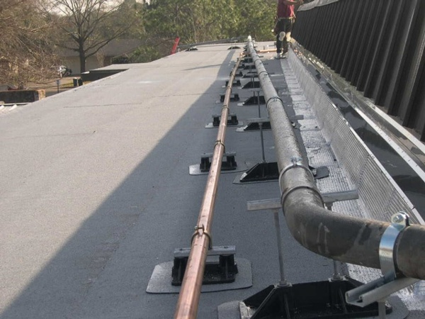 School Roof Support Systems