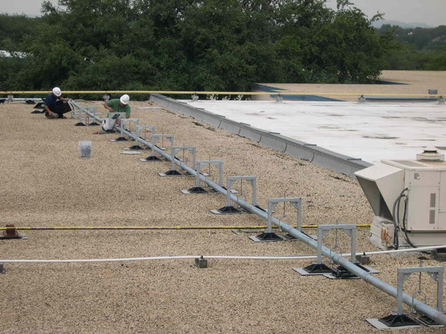 Roof Support System for Howsman Elementary
