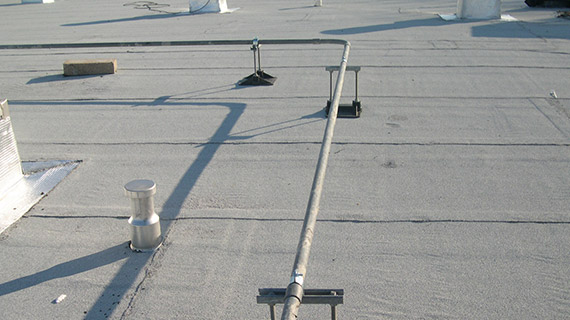 SS8 Channel model support for roof lines