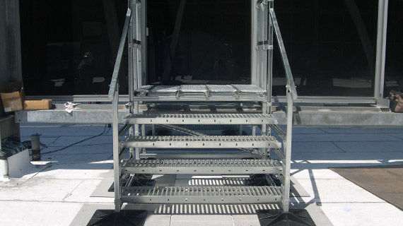 Roof Access Stairs