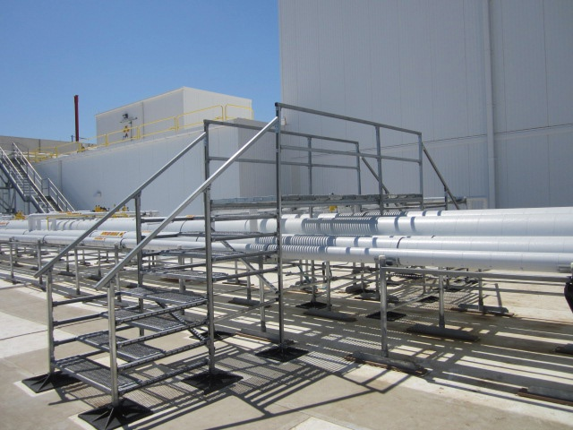 Warehouse Roof Support System for Target