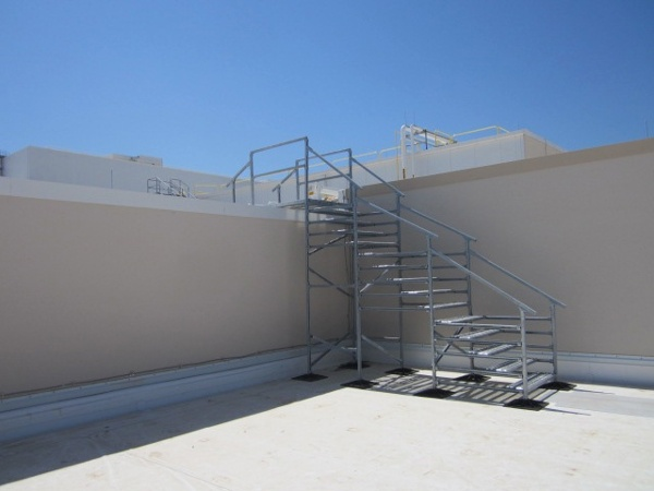 Roof Support System for warehouse and distribution centers