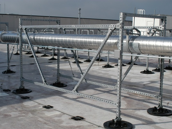 Fully supported Rooftop support systems