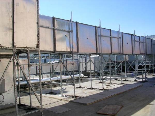 Coastal Rooftop Support Systems