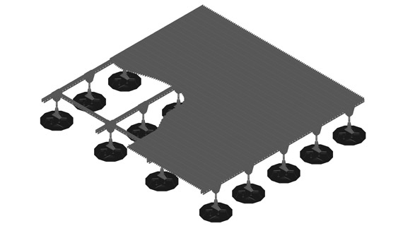 Equipment Platform Systems for Roofs