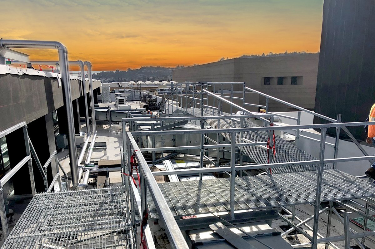 How to Provide Safe Work Access to Commercial Rooftops